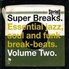 Super Breaks Volume 2 Various Artists Jazz Soul Funk Break Beats 2x LP Vinyl