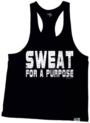 Sweat For A Purpose MUSCLE VEST birthday funny fashionrunning runner