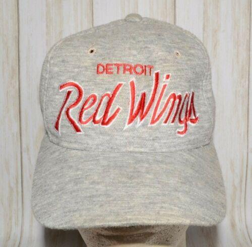 Detroit Red Wings Script Sports Specialties Hat Ca