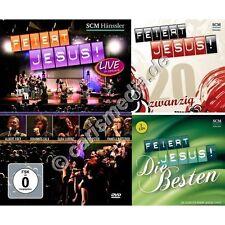 Paket: FEIERT JESUS! DAS BESTE - 1 CD + 1 DCD + 1 DVD - Lobpreis - Worship *NEU*