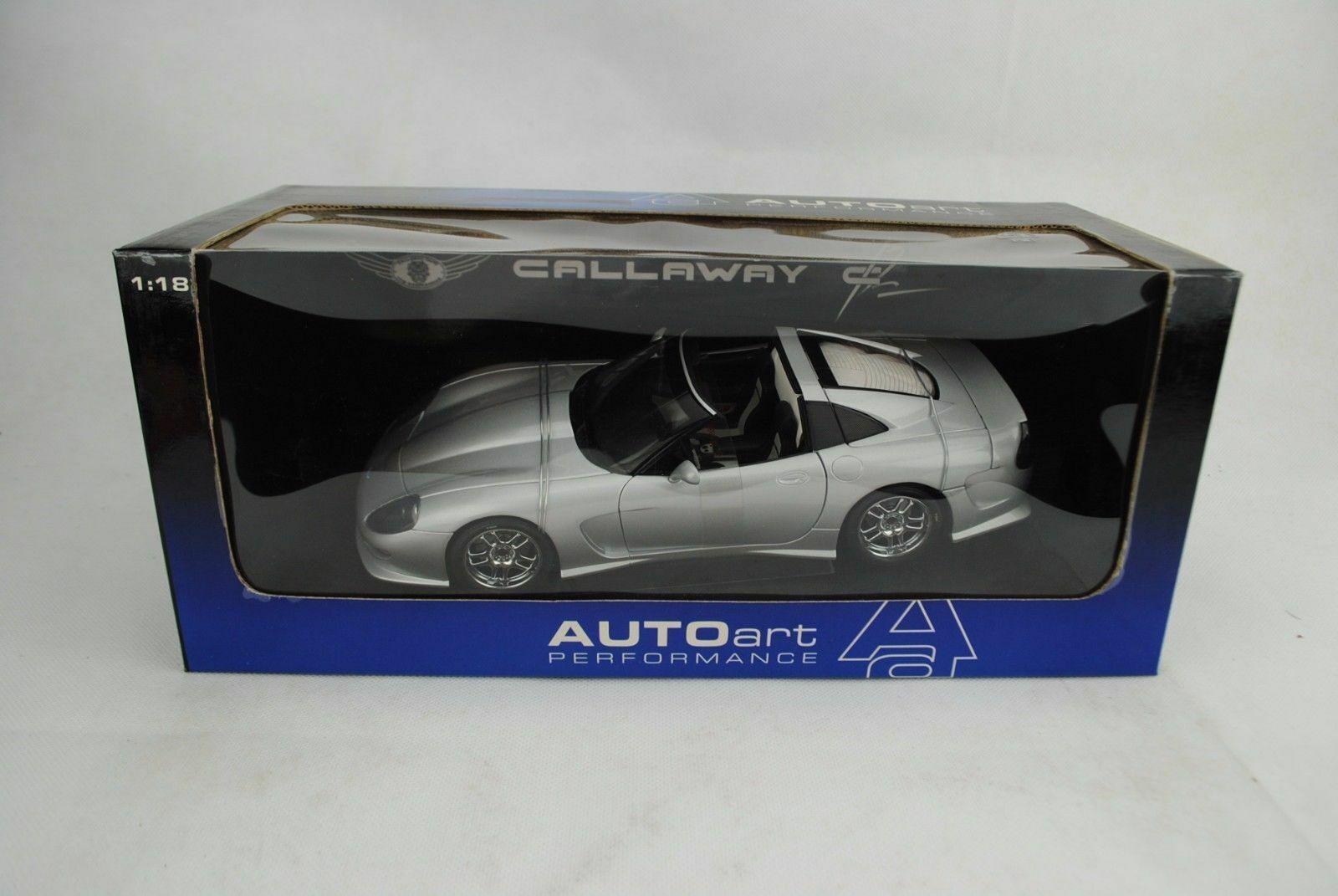 respuestas rápidas 1 18 Autoart  71011 71011 71011 Callaway C12 Plata  la mejor oferta de tienda online