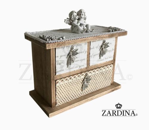 Baby Angels Craft Wooden Mini Jewellery//Storage Box