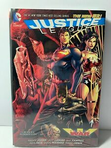 Justice-League-Trinity-War-Hardcover-Graphic-Novel-DC-Comics-2014-New-Sealed