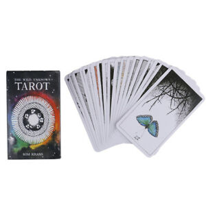 78pcs-the-Wild-Unknown-Tarot-Deck-Rider-Waite-Oracle-Set-Fortune-Telling-Cards