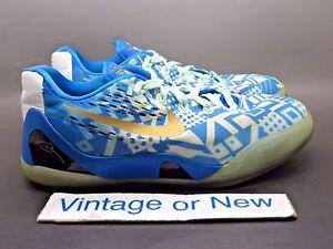 classic dff1d 3e64c Image is loading Nike-Kobe-IX-9-EM-Photo-Blue-Hyper-