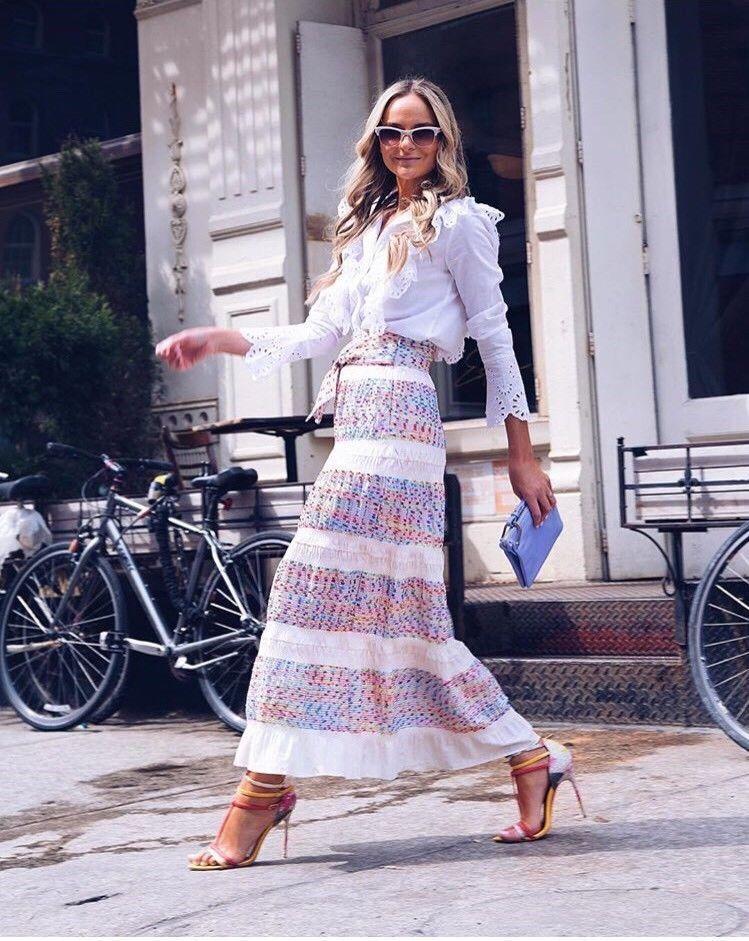 Zara Long Jacquard Skirt Size X SMALL & MEDIUM  BNWT