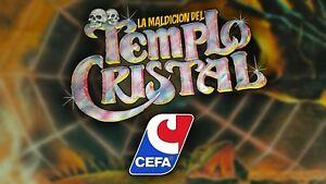 Multi-Anuncio accesorios juego de mesa LA MALDICIÓN DEL TEMPLO CRISTAL de CEFA