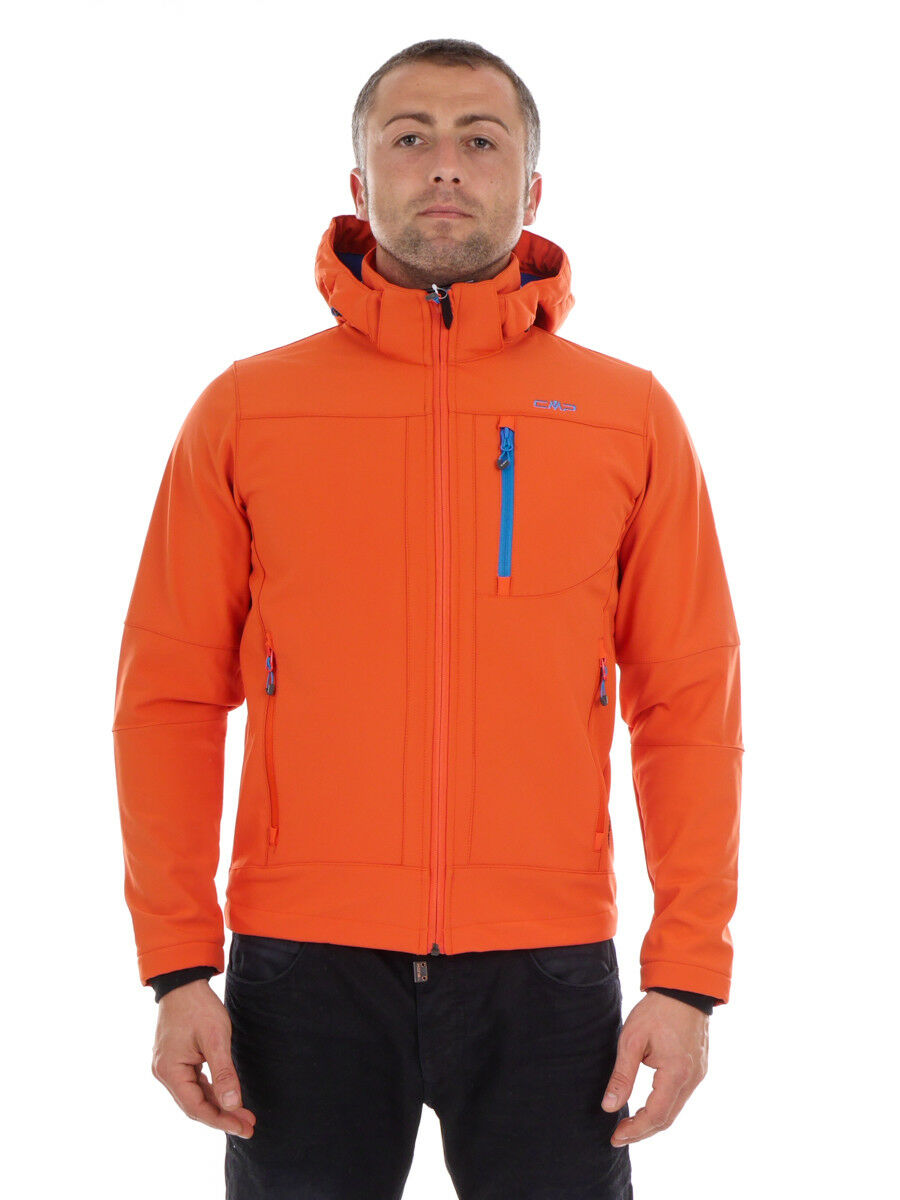 CMP Softshell Giacca Funzione Giacca Outdoor Arancione WP 7.000mm