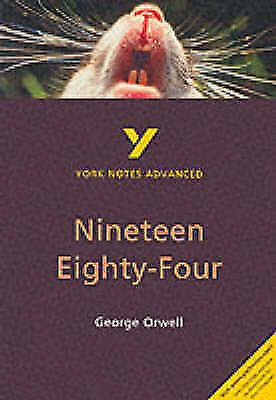 Nineteen Eighty-Four (York Notes Advanced series),Students,Learn,Literature,GCSE