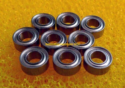 440c Stainless Steel Metal Ball Bearing SMR104zz MR104zz 4x10x4 mm 2 PCS
