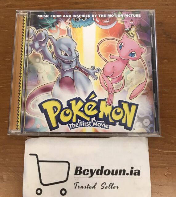 Pokemon The First Movie Soundtrack Cd Nsync Britney Emma Bunton