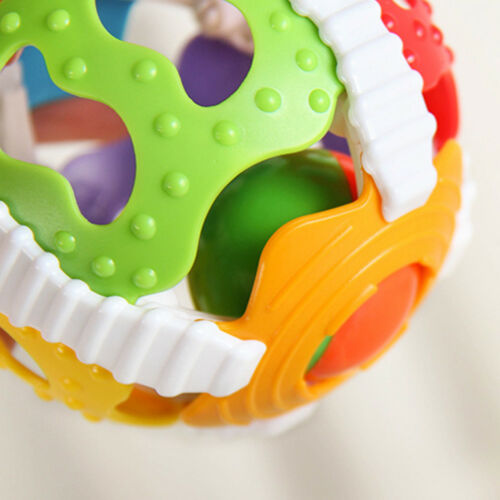 Baby Handrattle Ball Toy Creative Rattle Handbell Puzzle Educational Toy