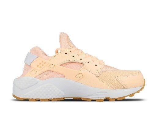 Womens Nike Air Huarache Run Peach White 634835 607 Size UK 4_4.5_6_7