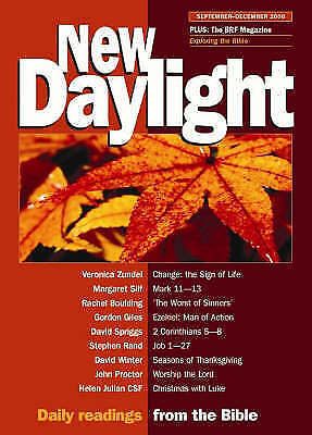 New Daylight: Daily Readings from the Bible: September-December 2006 by BRF...
