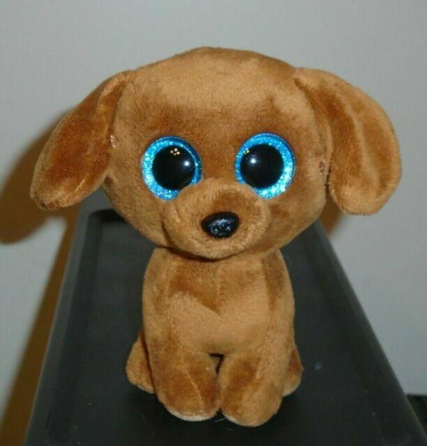 6 Inch Ty Beanie Boos ~ DOUGIE the Dachshund Dog NEW MWMT