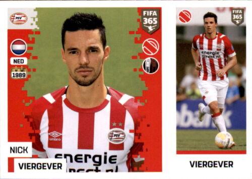 Sticker 260 a//b PSV Eindhoven Panini FIFA365 2019 Nick Viergever