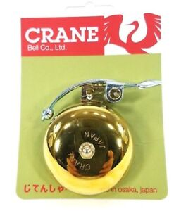 Soma-Crane-SUZU-Classic-Brass-Bicycle-Bell-Big-Sustained-Sound-Great-Bike-Bell