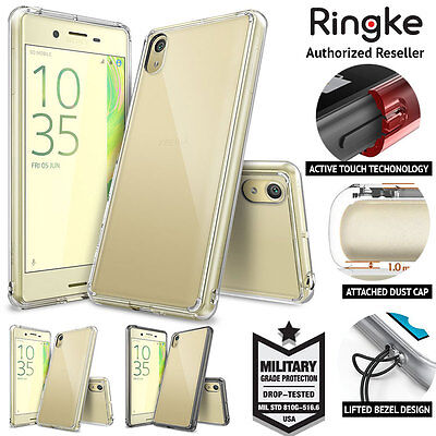 Xperia X Performance XA case for Sony Genuine RINGKE FUSION Hybrid Bumper Cover