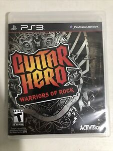 Guitar hero Warriors of Rock Playstation 3 Ps3