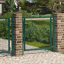 Gartentür Gartentor 100x100 cm Wellengitter-Tor Hoftor Zauntür Tür Tor Garten