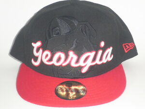 Image is loading New-Era-59Fifty-Georgia-Bulldogs-FRONTRUNNER-Fitted-Hat- d344deb4589