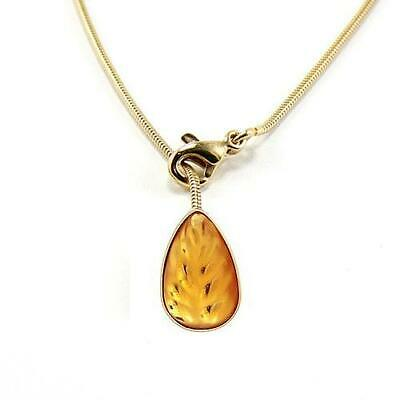 Lex /& Lu 10k Yellow Gold w//Rhodium Butterfly Pendant LAL71925