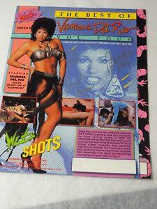 "VANESSA DEL RIO Adult film star Autographed Color Brochure 8.5 x 11"" color photo"