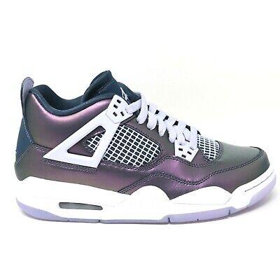 Nike Air Jordan IV 4 Rétro Soi GS Mousson Bleu Armory Og Jeunes Enfants Taille 6 | eBay