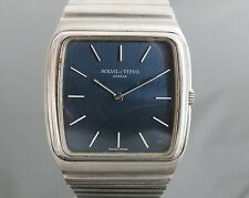 100% Authentic SOLVIL ET TITUS Hand Winding Mens Wrist Watch 17Jewels Swiss VTG