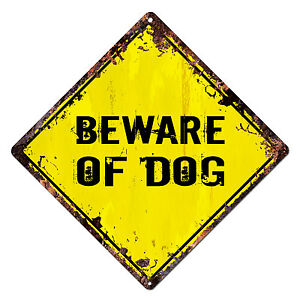 DS-0014-BEWARE-OF-DOG-Diamond-Sign-Rustic-Chic-Sign-Shop-Home-Decor-Gift
