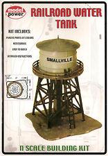Railroad Water Tank Tower Model RR Layout Kit N 1:160 by Model Power