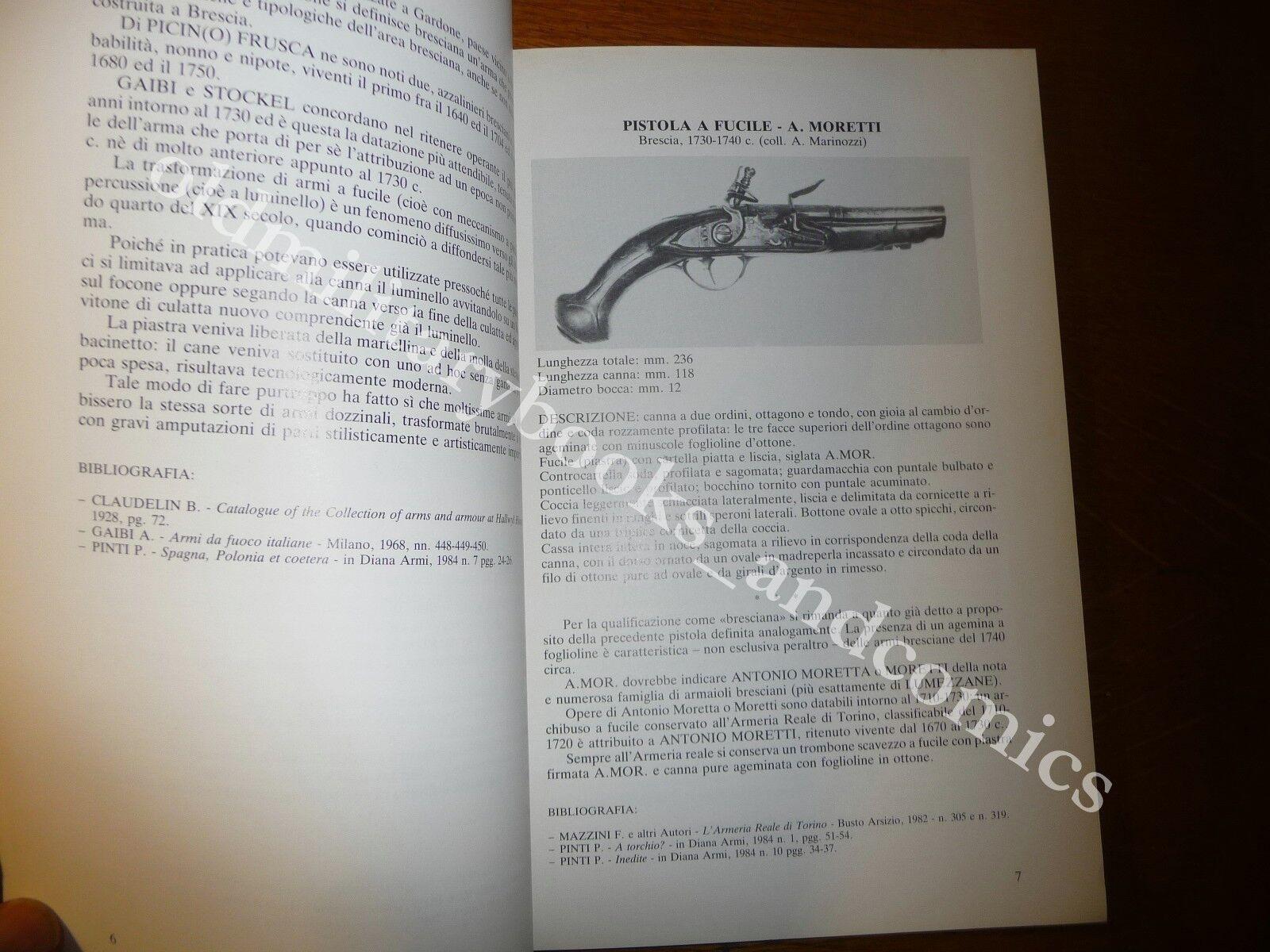 ANTICHE ARMI DA FUOCO NELLE COLLEZIONI PRIVATE MACERATESI TOLENTINO 1985