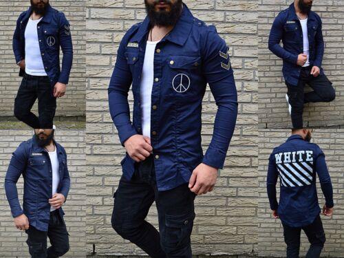Jacke Jeans Young Wild ribelli Us Army Clubstyle Optik Rocker Fashion Hemd Biker a6Igg4pq