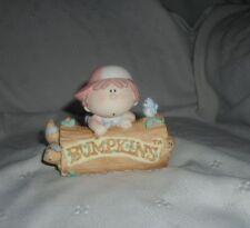 "Bumpkins Welcome to Bumpkinville Porcelain Figurine 4"" EUC Child Kid Country"