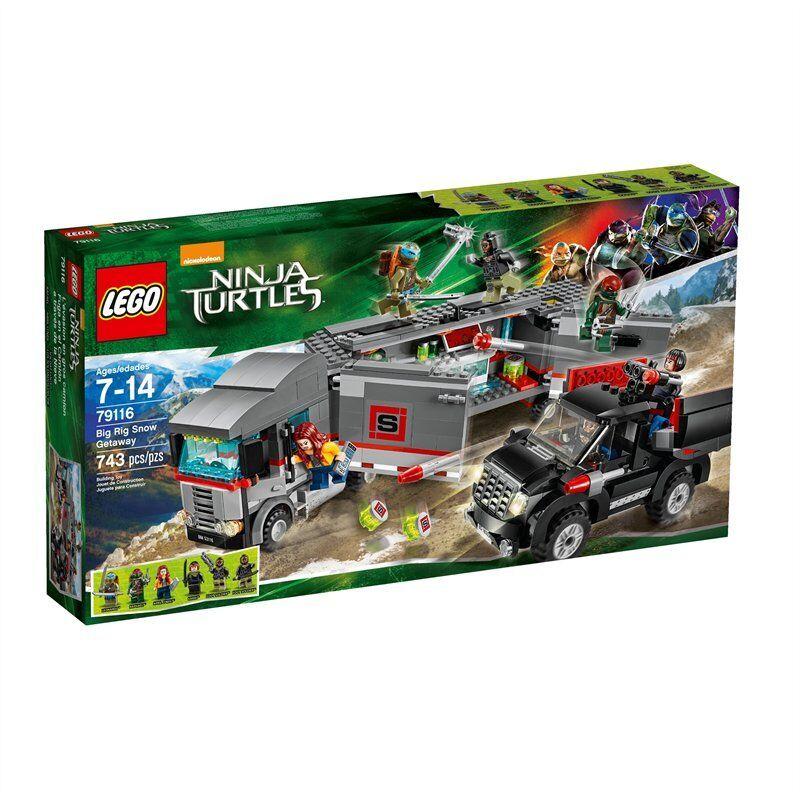LEGO 79116 Big Rig Snow Getaway - Lego Ninja Turtles NEW