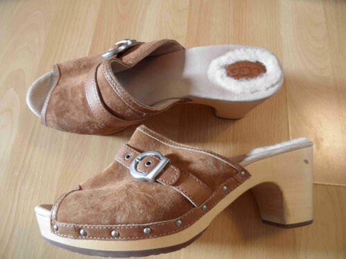 Ugg 41 Mules Top Th616 Camel Wood Great Gr fXqrafw