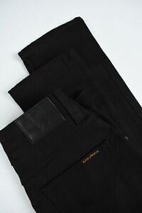 Prezzo-Nudie-Morte-Tim-Anello-Nero-Uomo-W28-L30-Stretch-Organica-Jeans-3306-MM