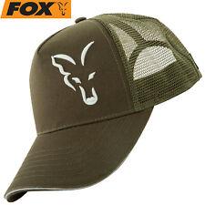 Fox Trucker Cap Black Orange Basecap Kappe Angelkappe Mütze Hut Angelbekleidung