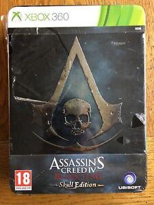 Assassin-039-s-Creed-4-Black-Flag-Skull-Edition-slight-damage-to-box-Xbox-360
