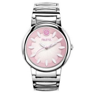 Authentic Bnew Philip Stein Fruitz Watch Silver Strap Pink Dial COD