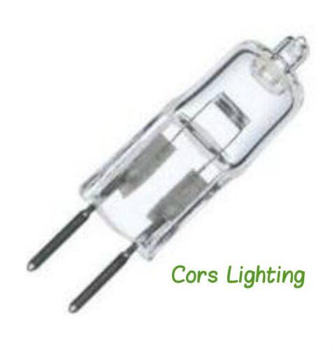 5 35 Watt Halogen 24V JC G6.35 Base Light Bulb 35W 2-Pins GY6.35 plusrite 5122