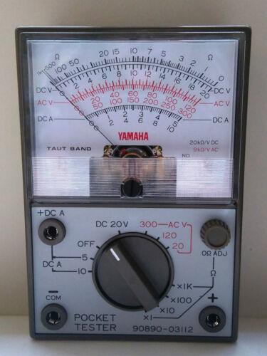 Genuine YAMAHA Poche Testeur-Multimètre 90890-03112...