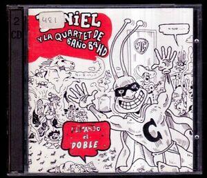 DANIEL-HIGIENICO-Y-LA-QUARTET-DE-BANO-BAND-Flipando-El-Doble-SPAIN-2-CD-AZ