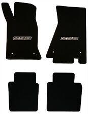 LLOYD Classic Loop™ Black FLOOR MAT SET logos on front mats 1982-1992 Camaro Z28