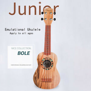 Fun-Little-Toys-21-034-Toy-Guitar-Ukulele-for-Kids-Musical-21-Burlywood-YK