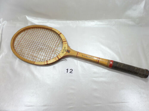 TENNIS RACKET OLD WOODEN MAC DONALD length 69 cm