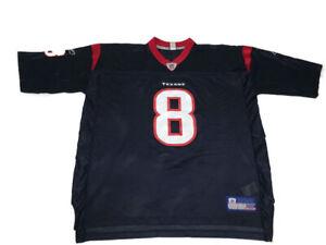 Houston Texans Reebok NFL Equipment Football Jersey #8 David Carr ...