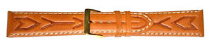 20mm-FLEURUS-TAN-EMBOSSED-AND-STITCHED-DELUXE-CALF-LEATHER-WATCH-BAND-STRAP