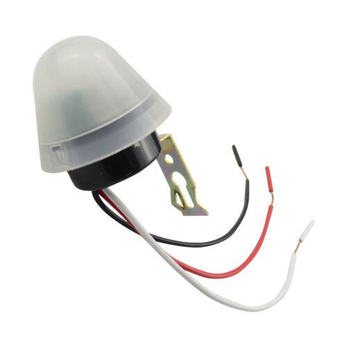Auto On Off Street Light Switch Photocell Photo Control Induction 110V 220V 12V