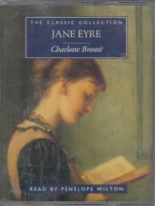 Charlotte-Bronte-Jane-Eyre-2-Cassette-Audio-Book-Penelope-Wilton-Abridged